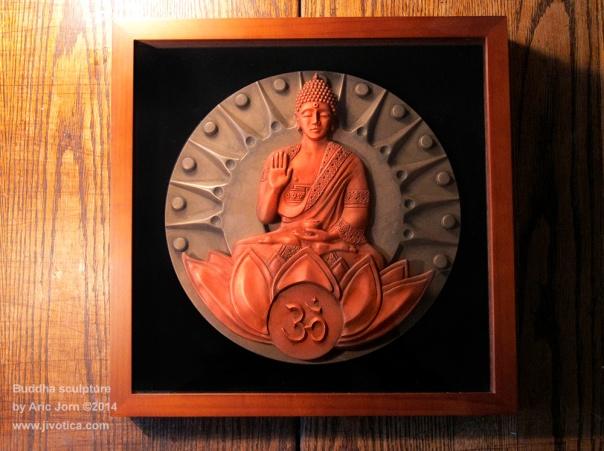 Buddha-framed