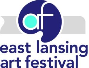 East Lansing Art Festival Logo