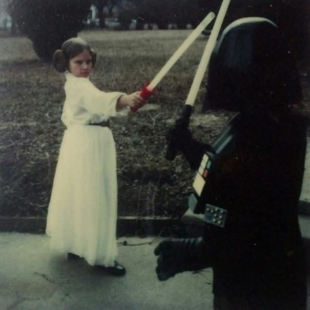 Darth Aric and Princess Cassie